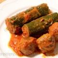 Zucchine ripiene al sugo con polpette - Ricetta di unamammaincucina.it