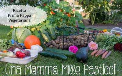 Ricetta Prima Pappa Vegetariana (con Bimby e non)