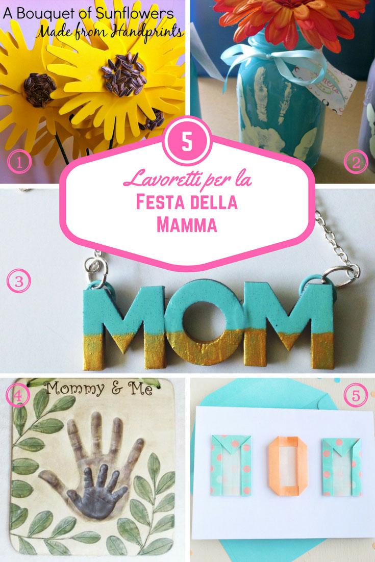 Lavoretti per la festa della mamma - Una Mamma Mille Pasticci