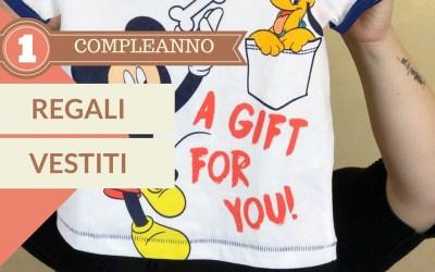 Primo compleanno: regali abbigliamento