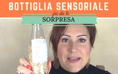 Bottiglia sensoriale sorpresa