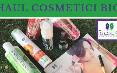 Haul cosmetici bio
