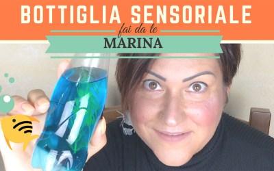 Bottiglia Sensoriale Marina