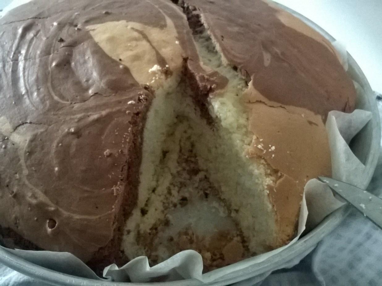 Torta Margherita variegata