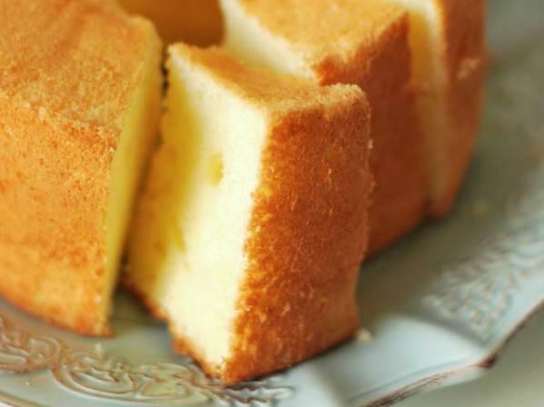 Chiffon Cake al cappuccino