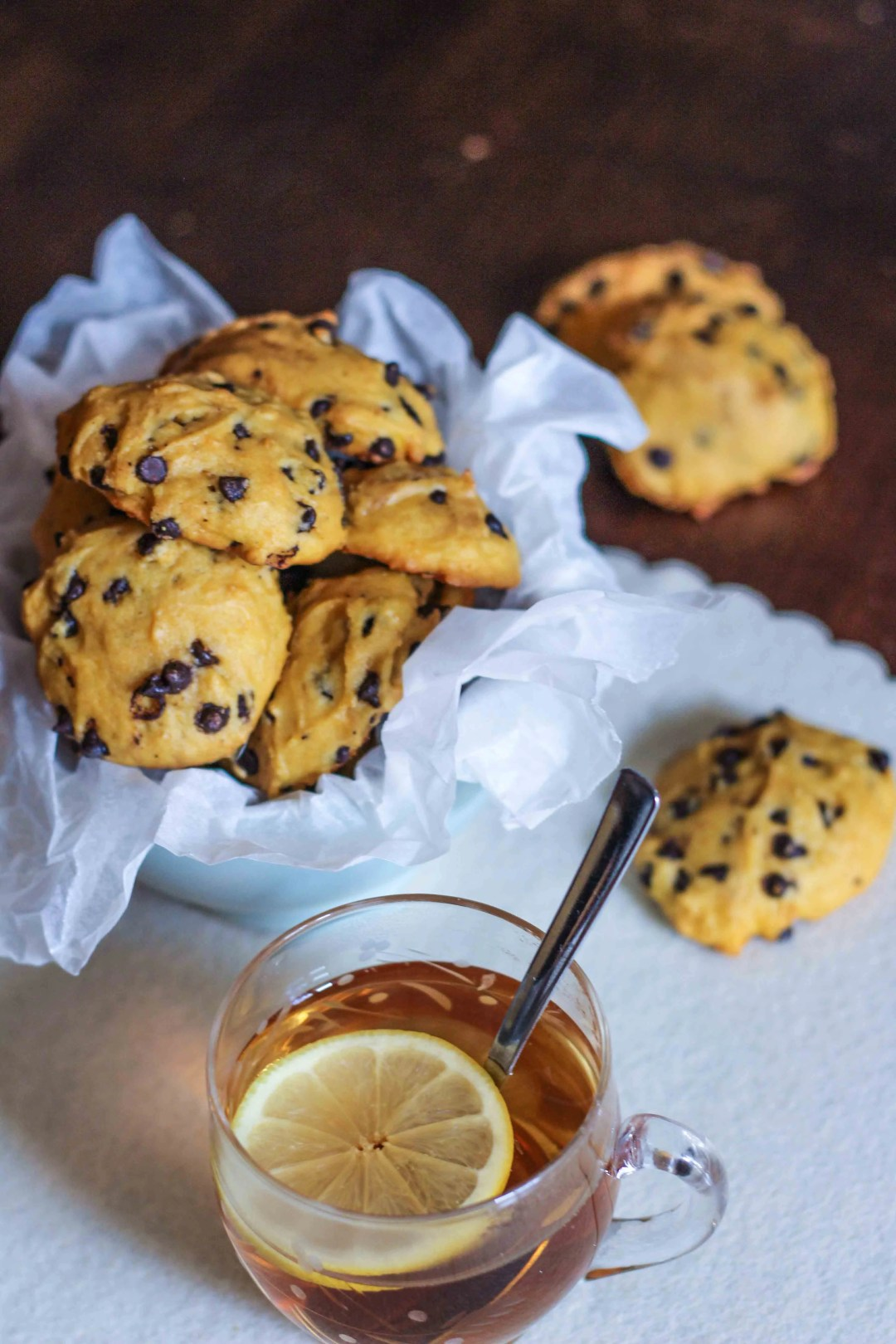 chocolate chip cookies alla zucca