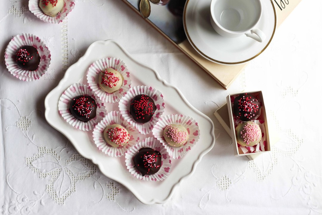 choco-coffee truffles