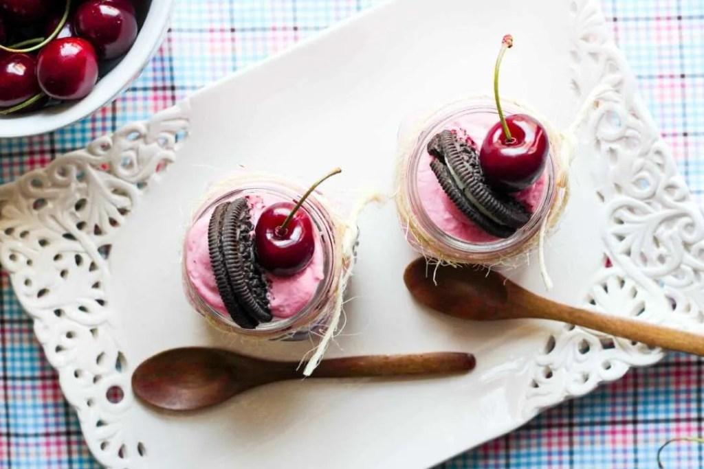 cheesecake con oreo