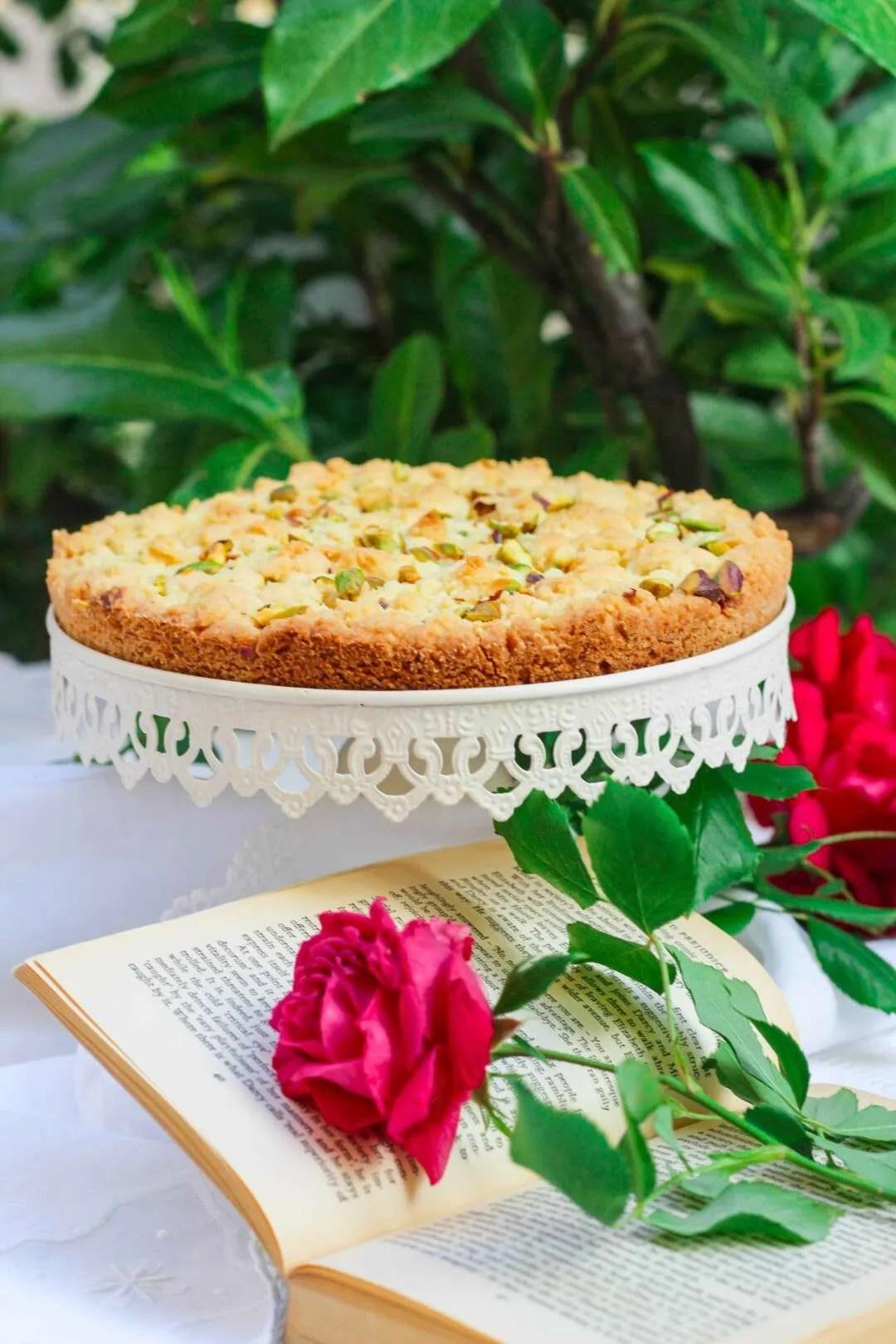 lemon crumble tart