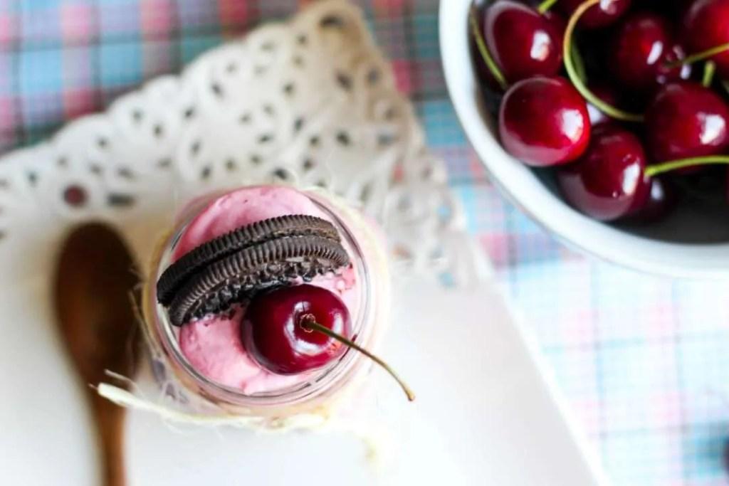 oreo cherry cheesecake