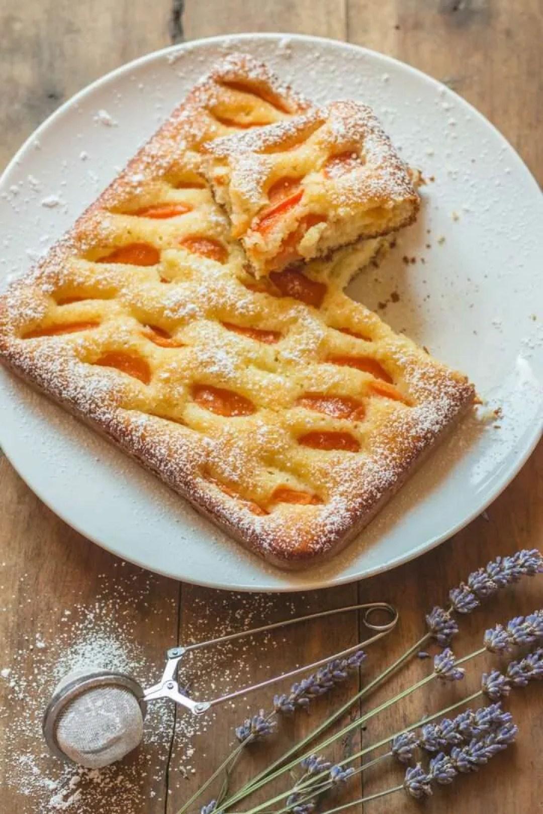 la ricetta della torta albicocche e cocco