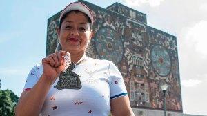 Biblioteca-maraton-CDMX-medallista9-UNAMGlobal
