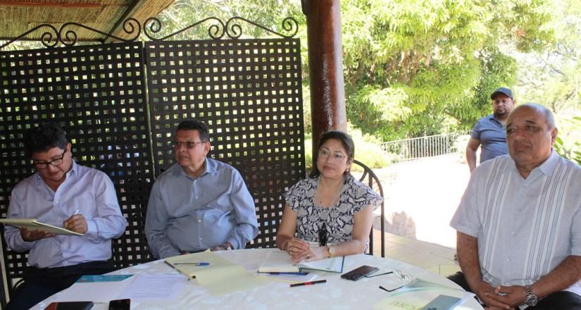 Autoridades universitarias de las instituciones educativas del CNU participaron el taller de gestión de la calidad y del establecimiento del modelo de educación centrada en el aprendizaje.
