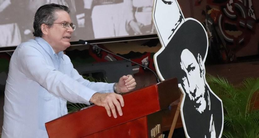 Compañero Carlos Fonseca Terán, Secretario de Relaciones Internacionales FSLN