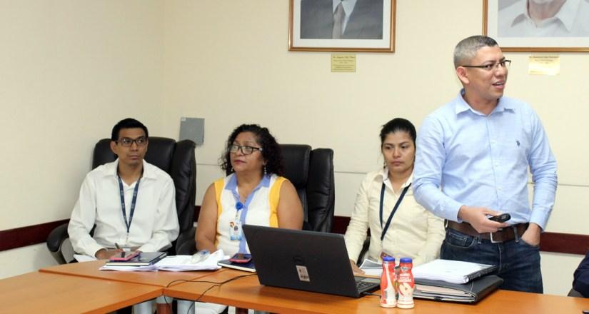 El MSc. Isaías Hernández presentó los avances del PDI 2020-2029 y del PEI 2020-2024
