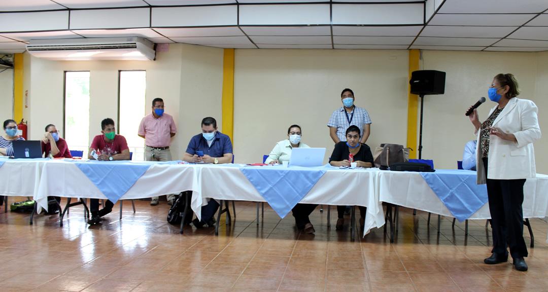 Gremios de la UNAN-Managua aportan al fortalecimiento del Programa Universidad Saludable