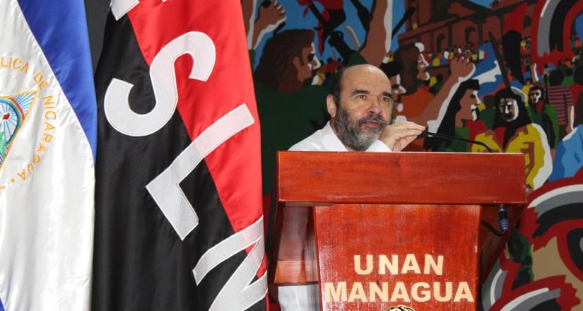 Dr. Luis Alfredo Lobato Blanco, Vicerrector General de la UNAN-Managua