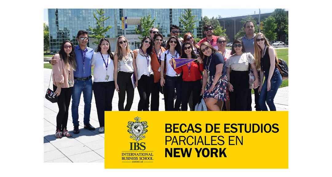 Convocatoria de Becas Parciales de Estudios en New York