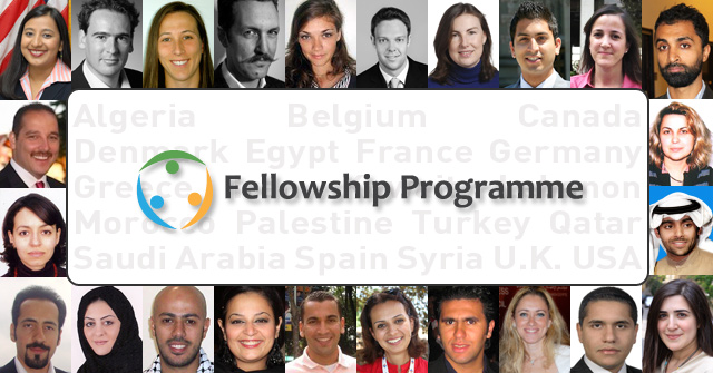 The twelve UNAOC fellows from Europe and North America are now ready for their trip!