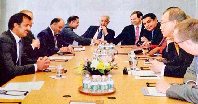 UNAOC High Representative Nassir Abdulaziz Al-Nasser Meets with HH the Emir of Qatar and the UN Secretary General