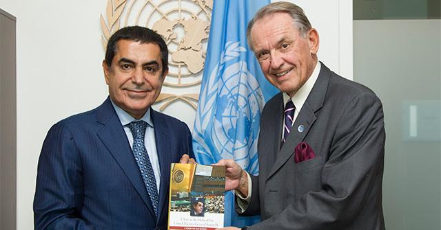 Al-Nasser Reiterates His Plea for Peace