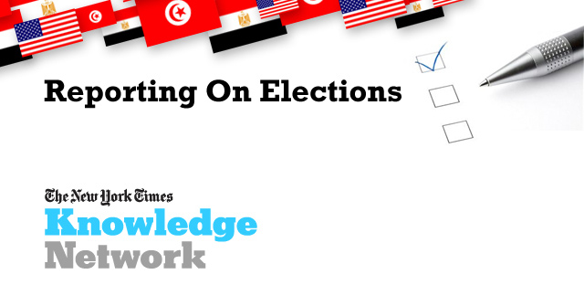 UNAOC collaborates with <i>The New York Times</i> to train US, Tunisian, Egyptian, and French journalists on covering elections