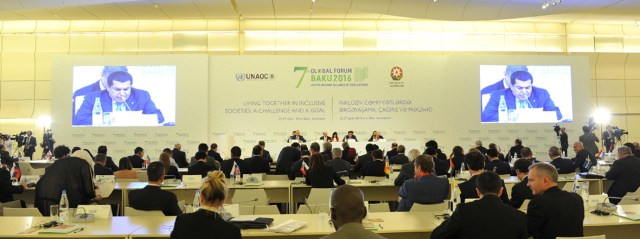 Endorsement of the Baku Declaration at the Ministerial High Level Meeting of the Group of Friends at the 7th UNAOC Global Forum