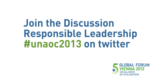 Join the Discussion on Responsible Leadership: #unaoc2013