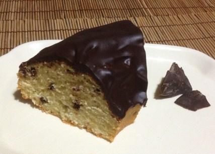 Ciambella Leopardata con glassa rapida al cioccolato