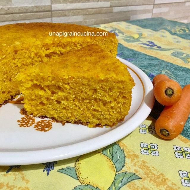 Torta Camilla Carote e mandorle8