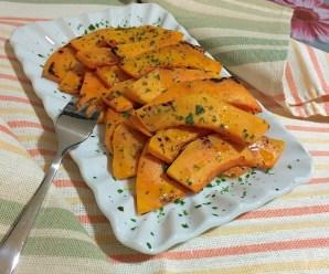 ZUCCA ALLA PIASTRA (senza glutine, ricetta light e vegana)