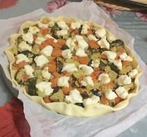 Torta Salata Verdure e Crescenza 2