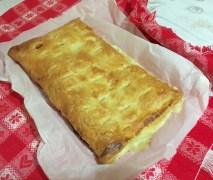 Torta salata prosciutto e formaggio 4