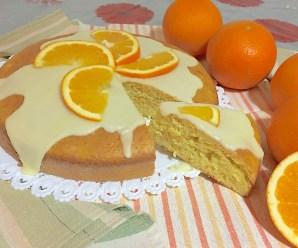 TORTA PAN D'ARANCIO SENZA LATTE E BURRO (con arancia intera frullata)