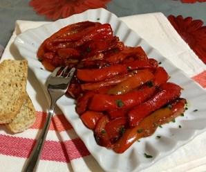 PEPERONI IN PADELLA (senza glutine, ricetta light, vegana)