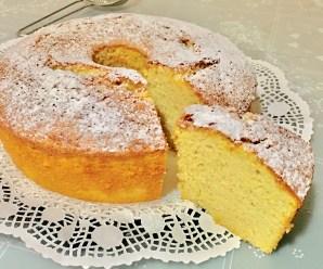 CHIFFON CAKE (Ciambellone Americano Alto)