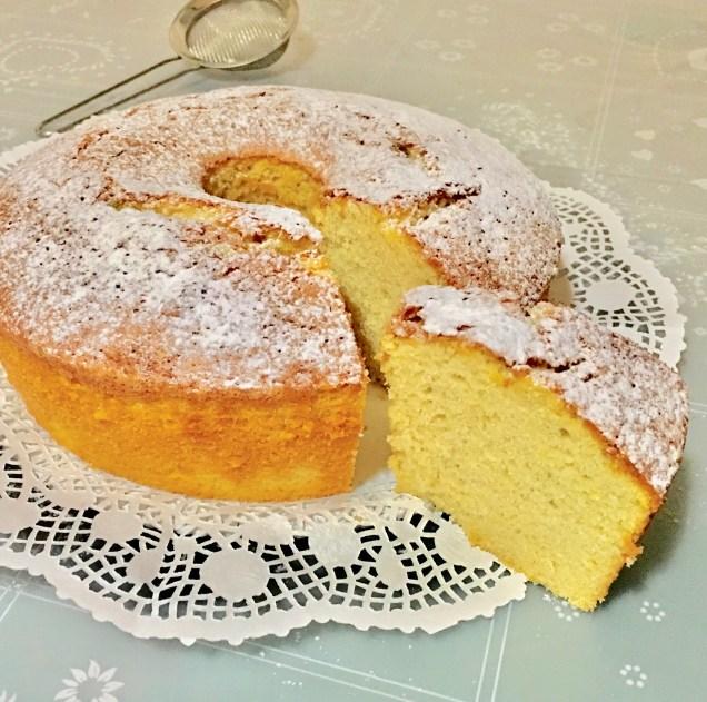 Chiffon Cake (Ciambellone Americano Alto ) 1