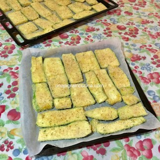 Cotolette di Zucchine al forno (senza uova) 1
