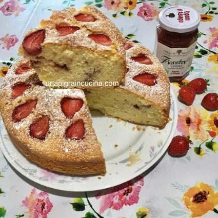 Torta Ricotta e Fragole (senza burro )