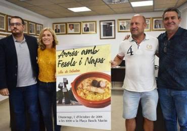 PRESENTACIÓN DEL I CONCURSO DE ARRÒS AMB FESOLS I NAPS. VILA DE CATADAU.