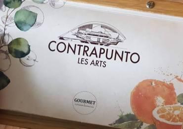 RESTAURANTE CONTRAPUNTO LES ARTS. EN EL CORAZÓN DEL PALAU