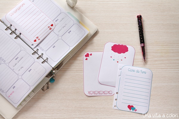 note cards planner