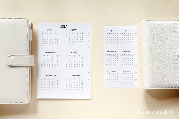 calendario annuale planner