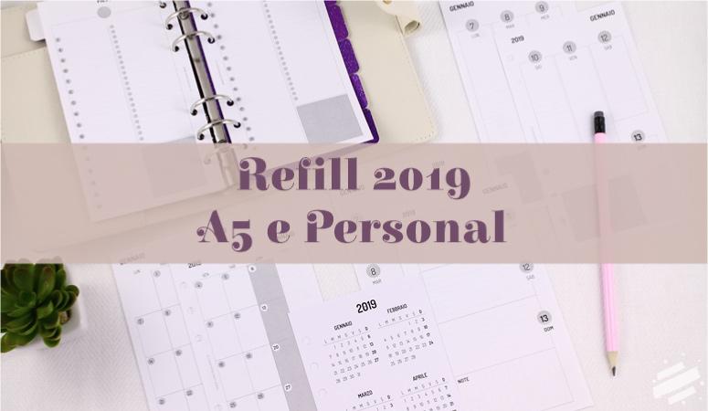 Ricambi per agenda 2019