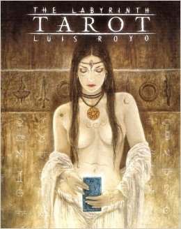 The labyrinth tarot - Luis Royo (carte)