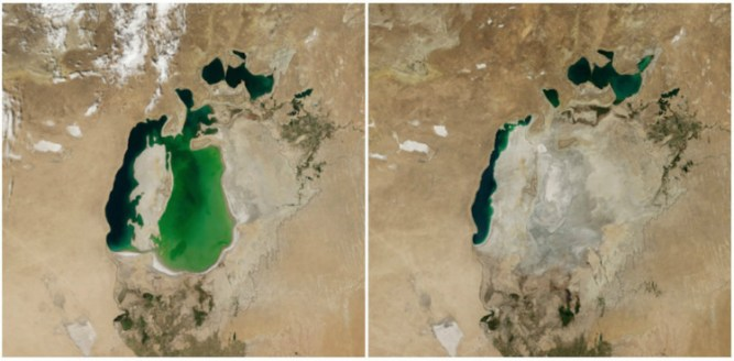 Aral Sea, Central Asia