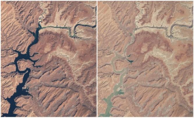 Powell Lake, Arizona and Utah
