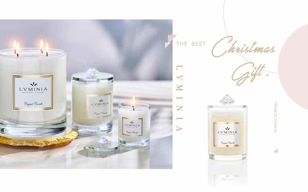 傳遞最真摯的聖誕祝福,療癒天使系精油蠟燭品牌 LVMINIA