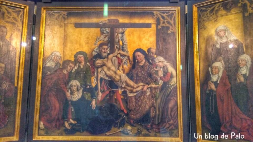 Descendimiento, iglesia de San Pedro Lovaina