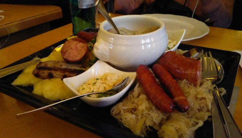 Comer en Nuremberg